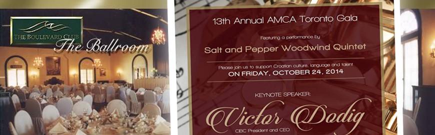 AMCA Toronto 13th Annual Gala Dinner