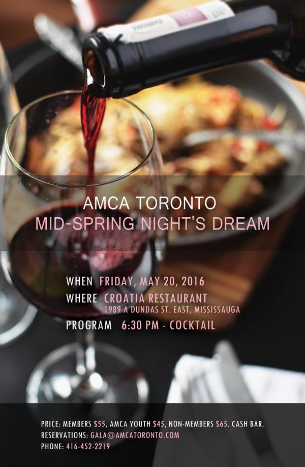 Amca Mid-Spring Night's Dream Flyer