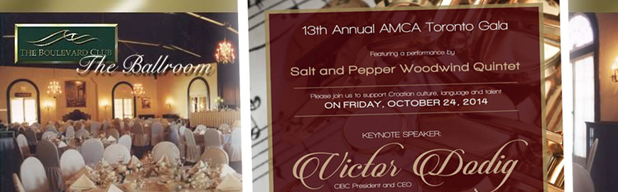 AMCA Toronto 13th Annual Gala Dinner